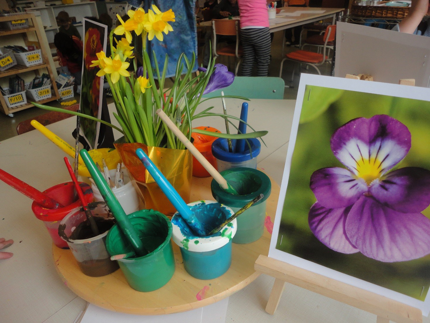 Collaborative Classroom Activities ~ Growing an imaginary garden the curious kindergarten