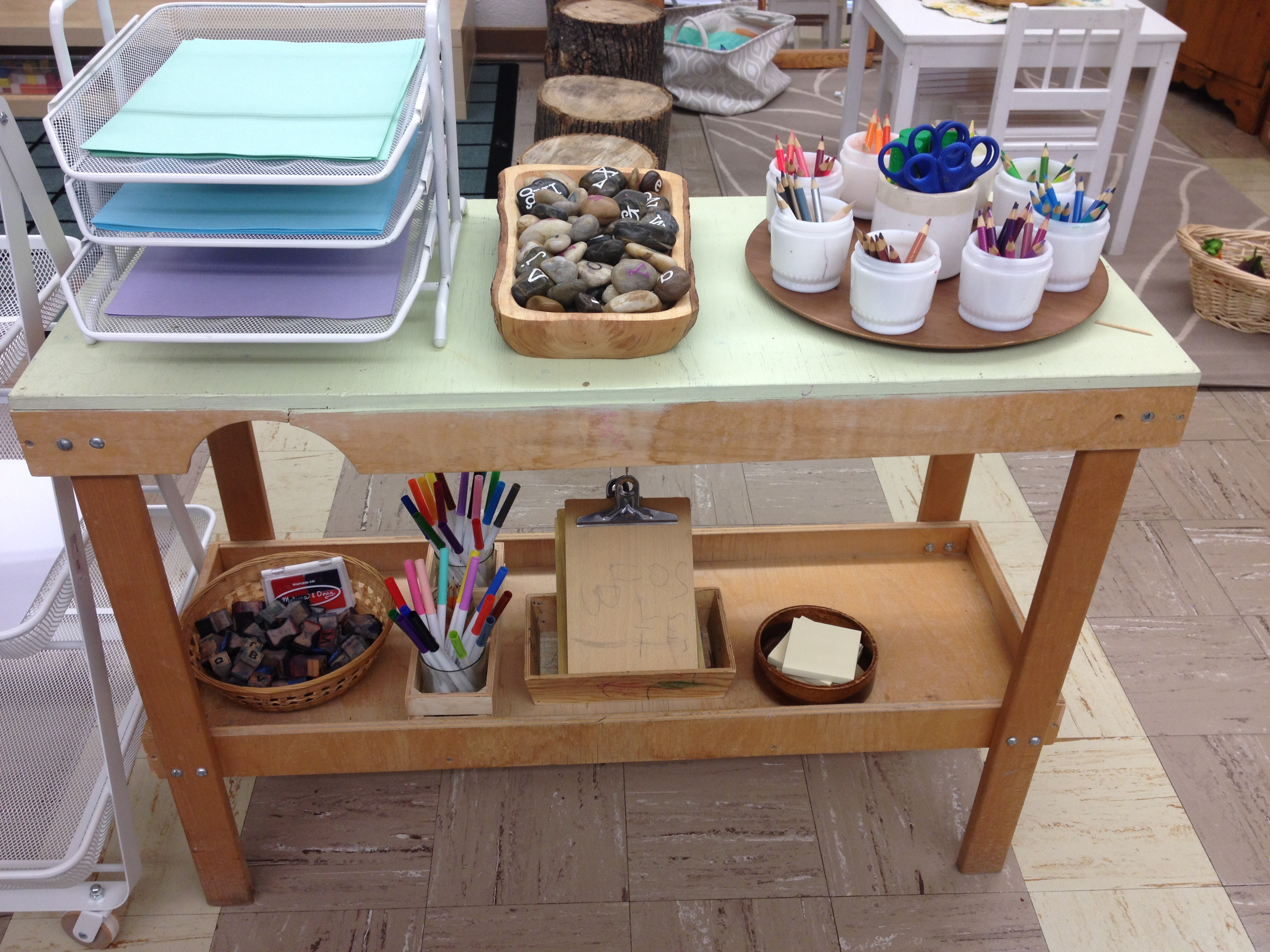 Kinder Garden: Reggio Inspired Classroom Setup