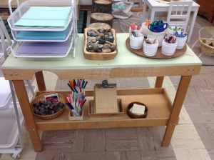Writing Centre materials.
